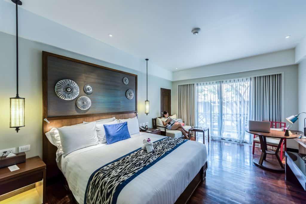 חדר מיטות מעוצב