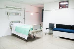 מיטה של בית חולים - תמונה להמחשה